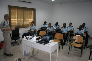 Curso de formación de formadores para los Guardacostas en Seychelles. Fuente: eucap-nestor.eu