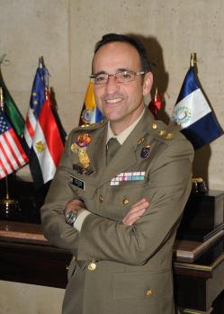 El teniente coronel Jesús Díez Alcalde. Fuente: Instituto Español de Estudios Estratégicos (IEEE)